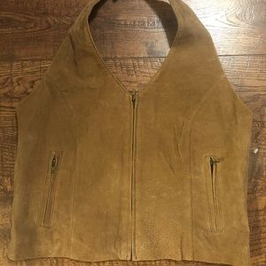 Wilson's Suede Leather Vest
